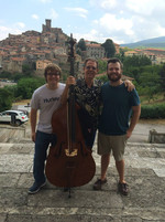 With students at InterHarmony Festival, Arcidosso, Italy
