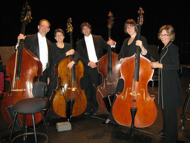 With the National Arts Centre Orchestra section, Ottawa