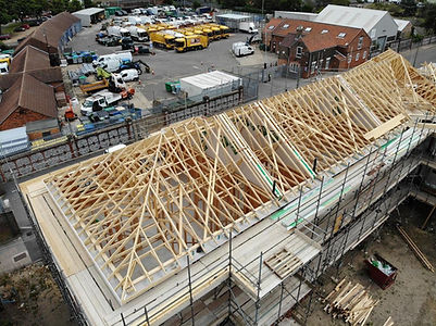 Timber frame construction.JPG