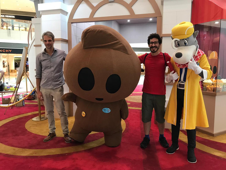 Mascot Parade