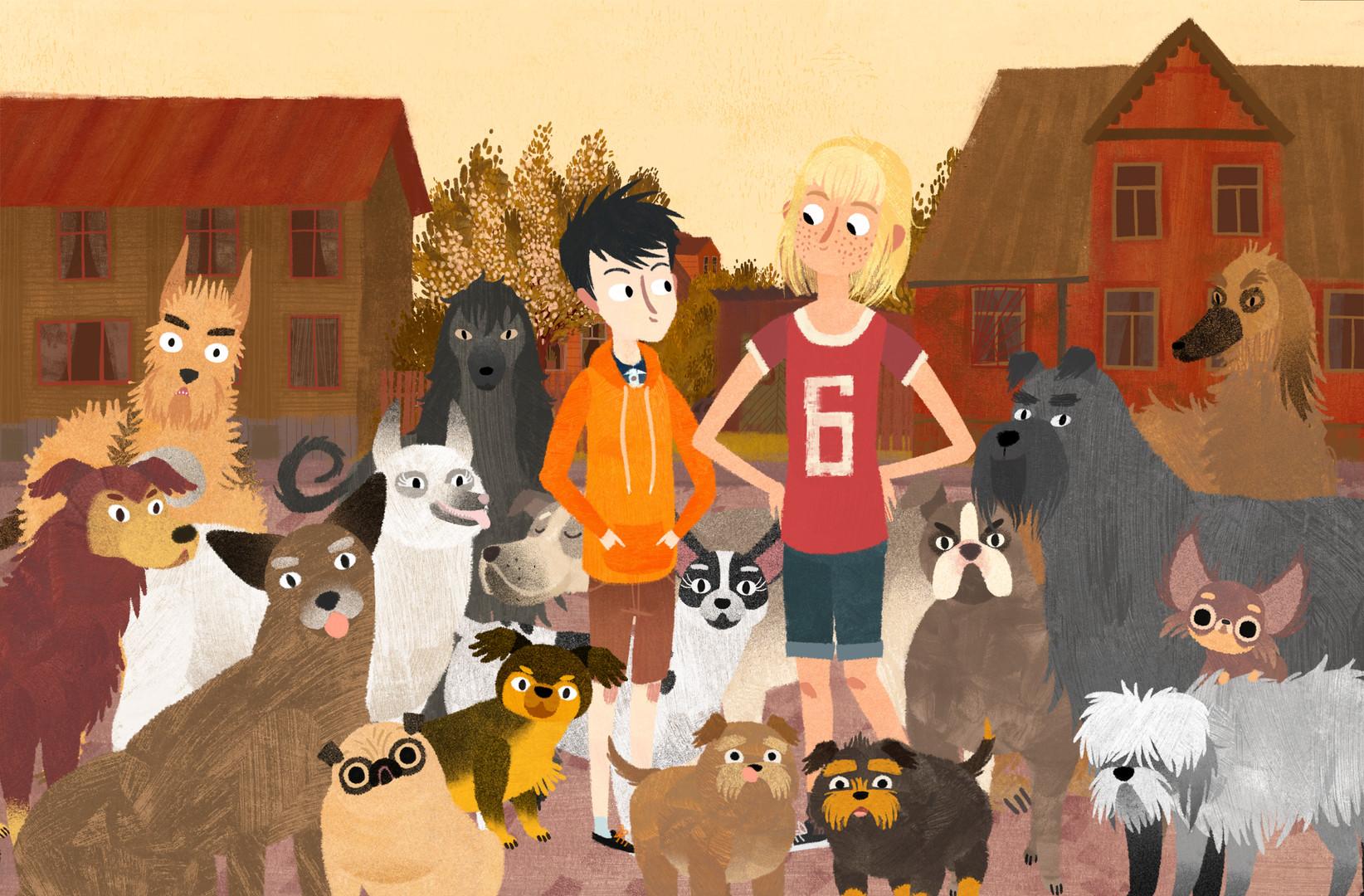 狗狗救地球 JACOB MIMMI AND THE TALKING DOGS