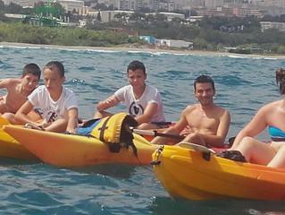 Kayak le mardi 16 août