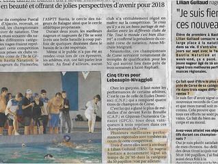 Championnats de Corse novembre 2017 à Aiacciu