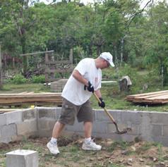 summer 2017 Building Castanos church