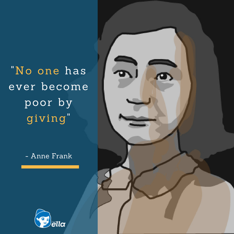 Anne Frank - Instagram Post