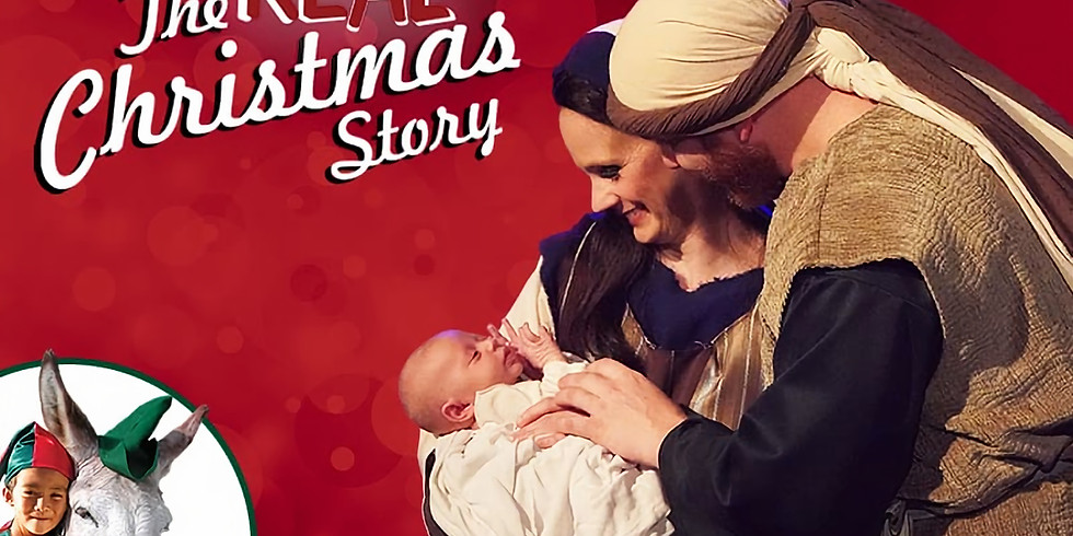 The Real Christmas Story & Dinner Show & Billy Graham Library- 2 Day