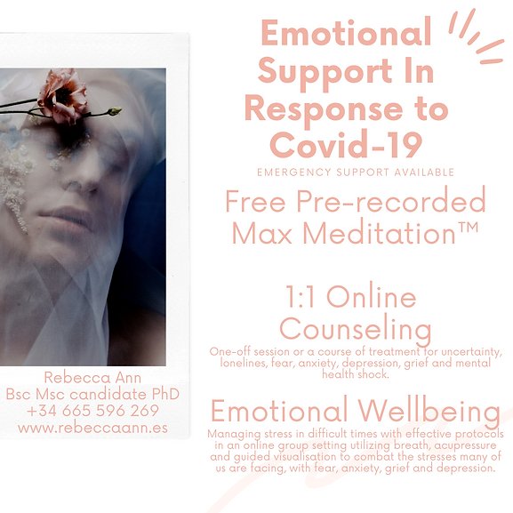 emotional support in response to covid-1