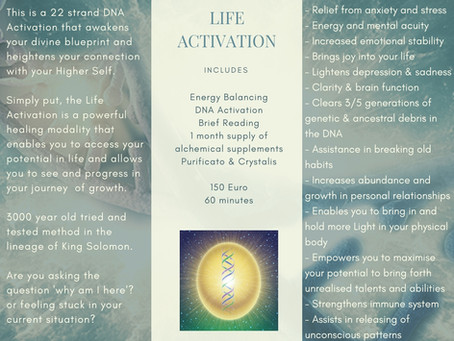 WHAT IS DNA LIFE ACTIVATION?