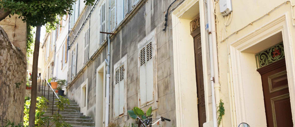 Les vieux quartiers de Marseille