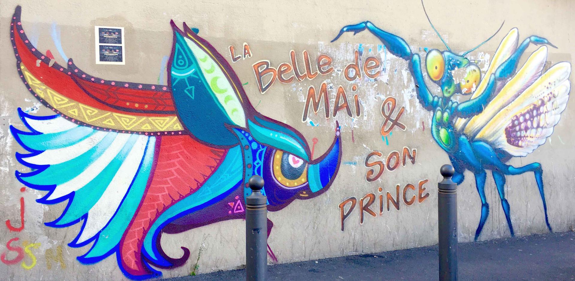 Le street art à la Belle de Mai, Marseille