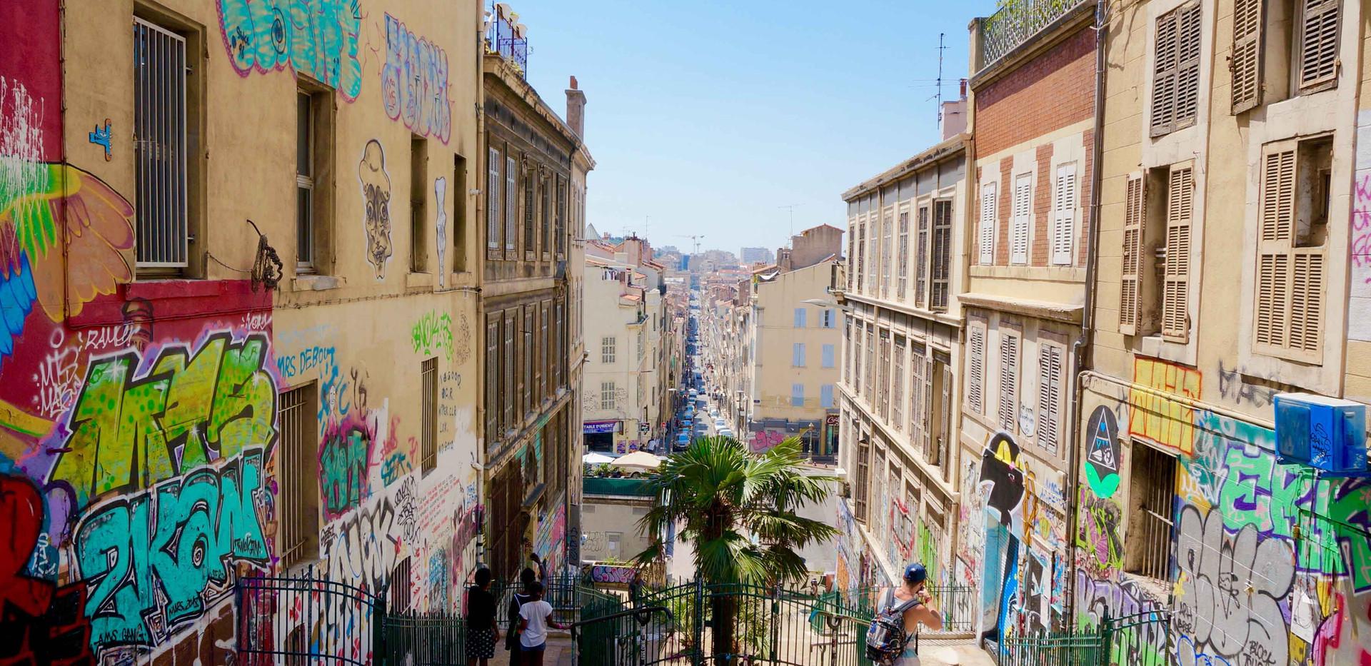 Le Cours Julien, Marseille