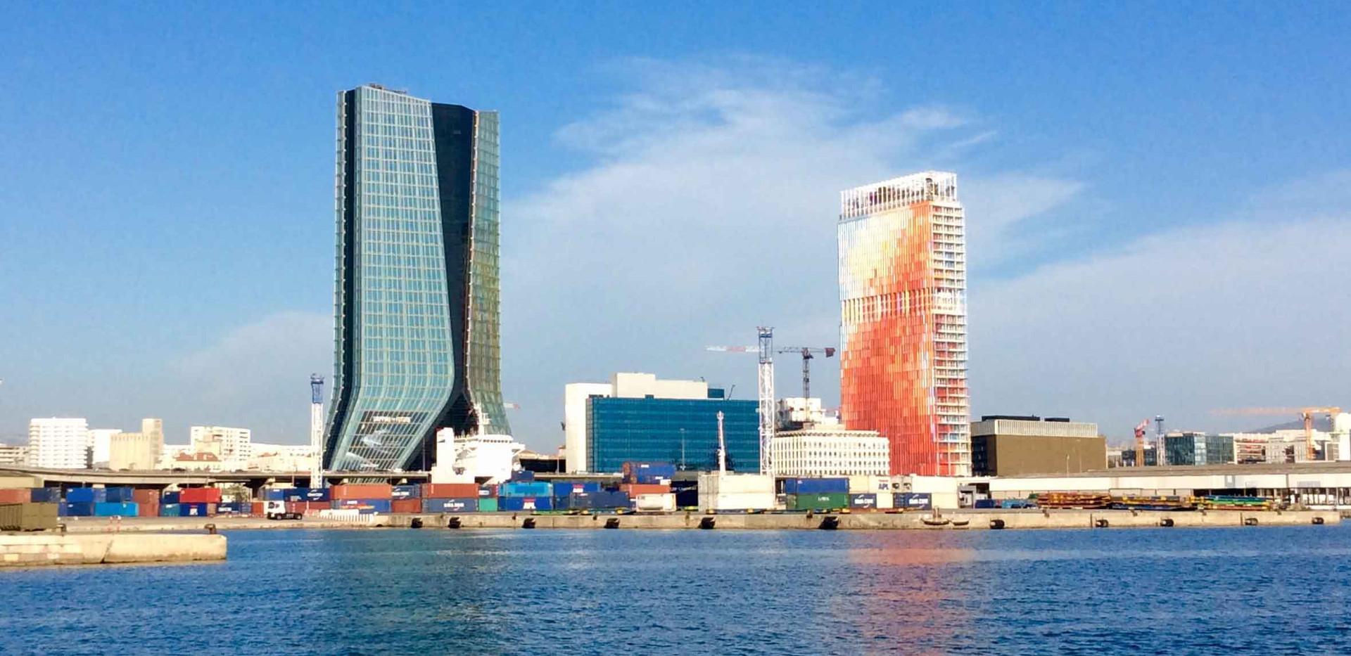 Les gratte-ciel de Marseille