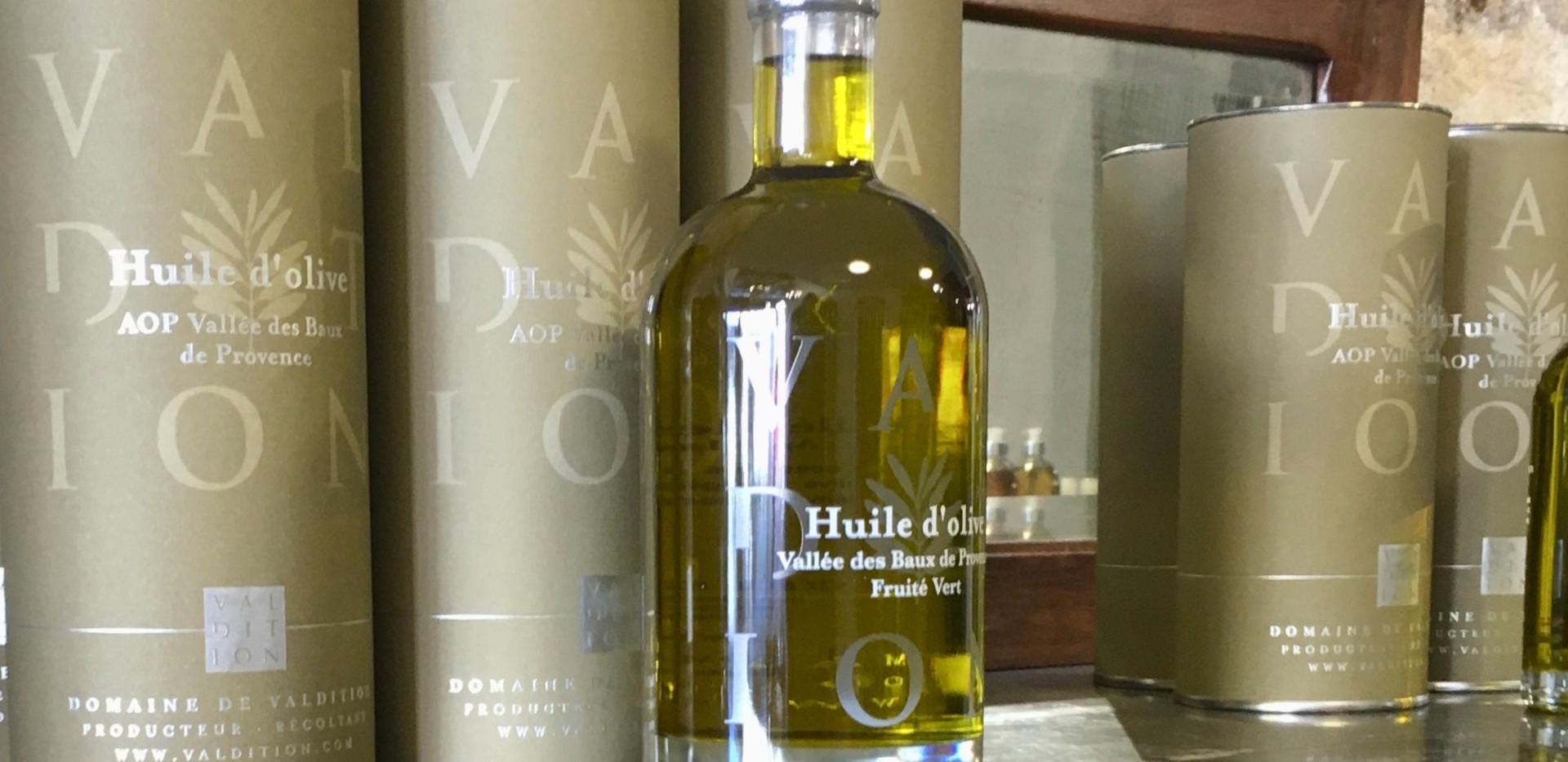 Huile d'olive de la vallée des Baux