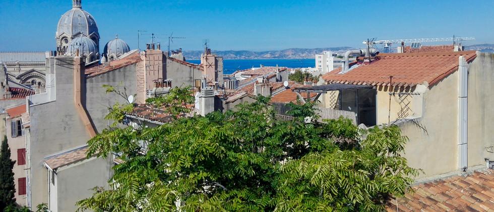 Les toits du Panier Marseille