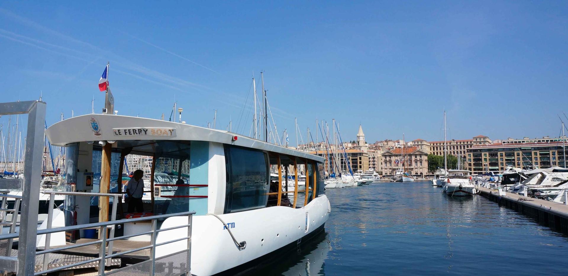 Le Ferry boat Vieux Port de Marseille
