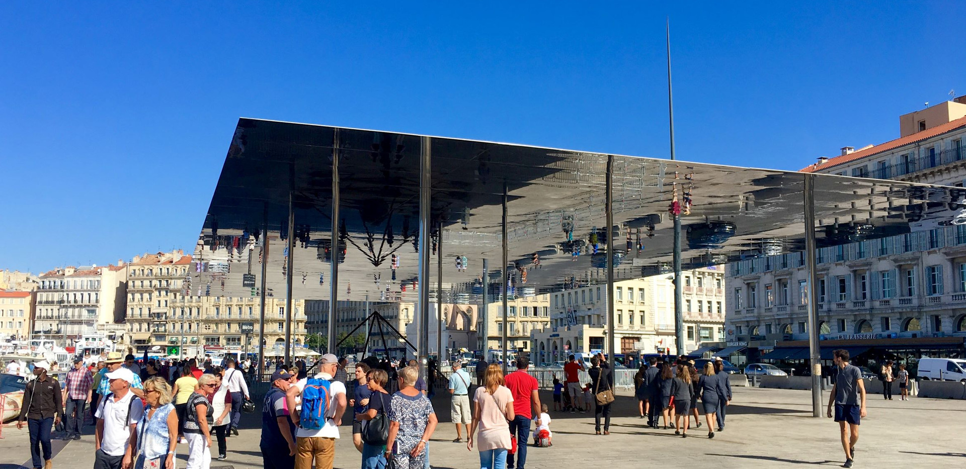 Ombrière du Vieux-Port de Marseille