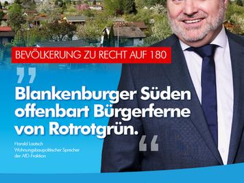 Blankenburger Süden offenbart Bürgerferne von Rotrotgrün
