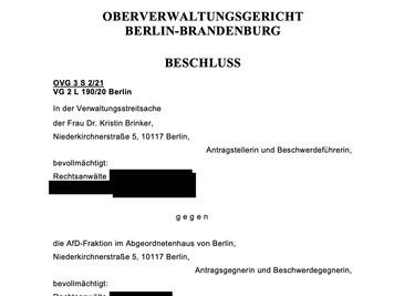 Gericht bestätigt Position der Fraktion zu Gutachten-Manipulation