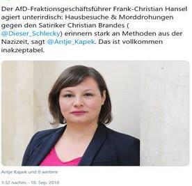 Fakenews-Urteil gegen Grüne Kapek