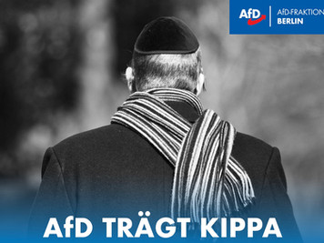 AfD trägt Kippa