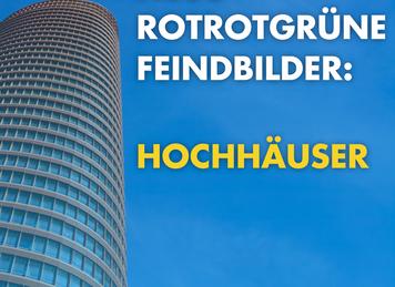 """""""Hochhausentwicklungsplan"""" dient nur der Hochhausverhinderung"""