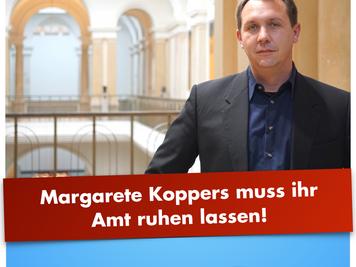 Woldeit (AfD): Margarete Koppers muss ihr Amt ruhen lassen!