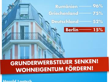 Laatsch (AfD): Wohnungseigentum ist der sicherste Schutz vor Mieterhöhung