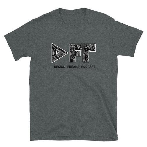 "Design Freaks ""Paisley"" Short-Sleeve Unisex T-Shirt"
