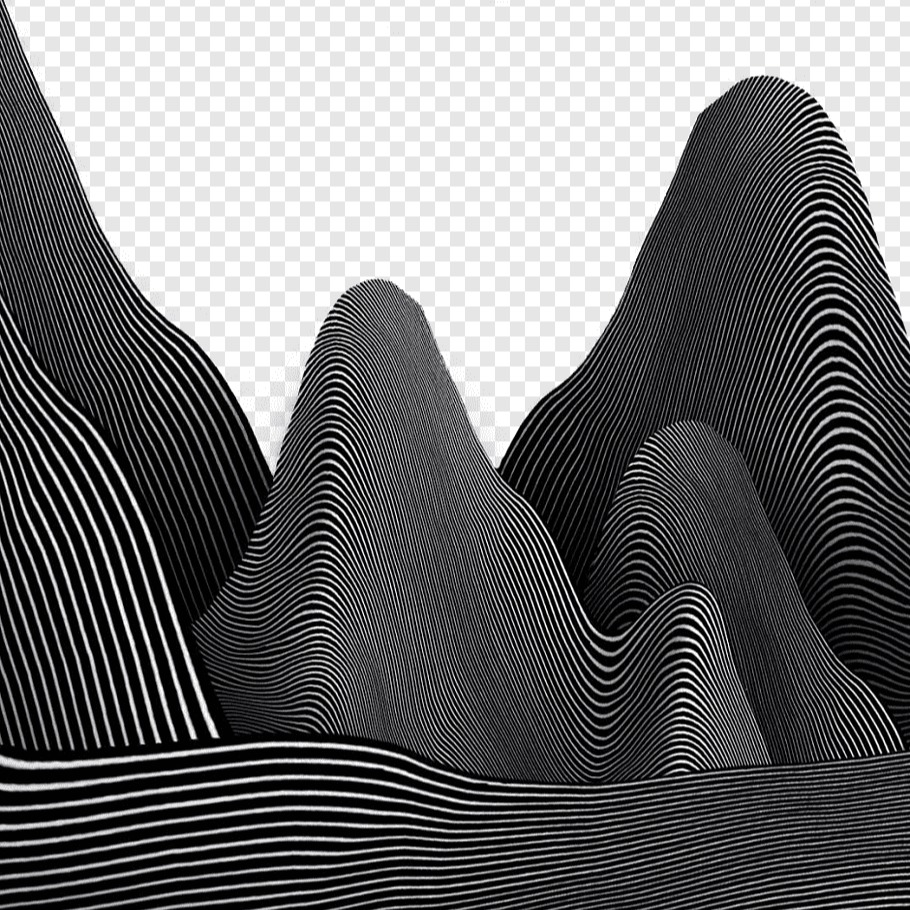 gray-and-black-sound-waves-illustration-