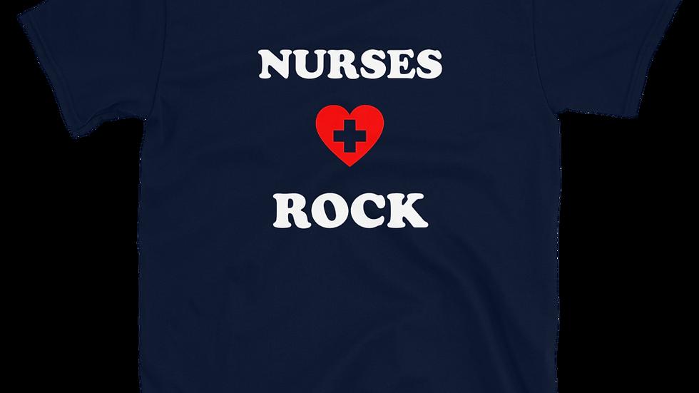 """RUINOUS """"Nurses Rock"""" T-Shirt"""