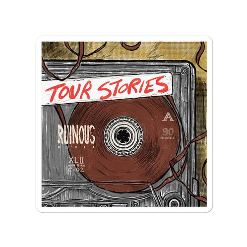 Tour Stories with Joe Plummer stickers