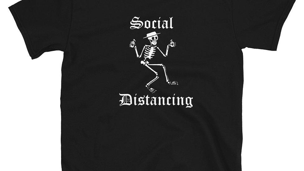 RUINOUS Social Distancing T-Shirt- BLACK and BLUE