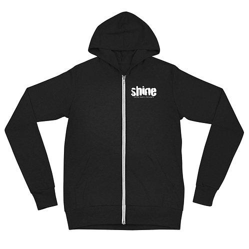 Shine Logo Zip Hoodie