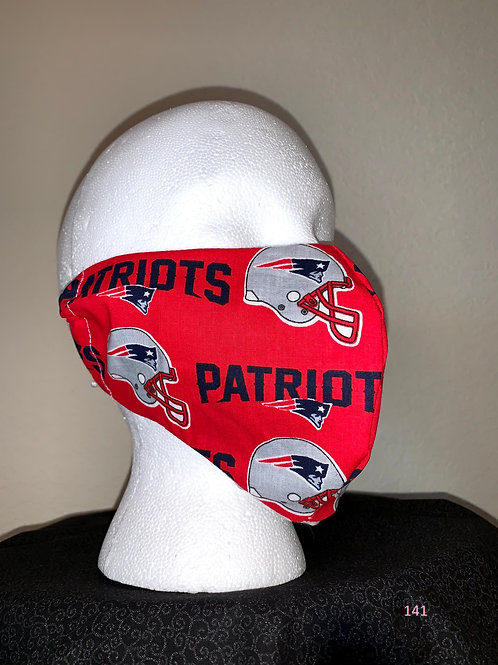 New England Patriots Face Mask