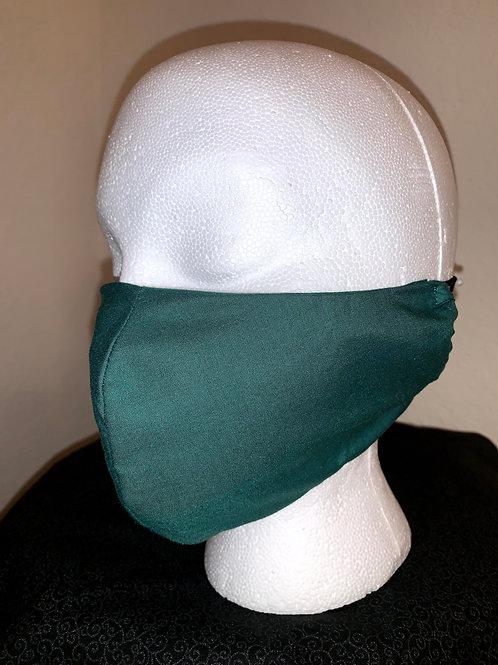 Hunter Green Face Mask