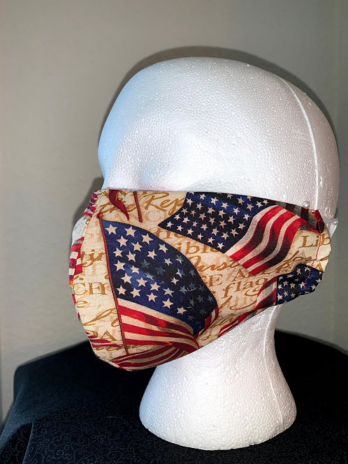 Liberty For All Face Mask