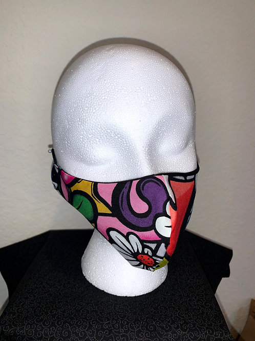 Day Of The Dead Large Design Face Mask