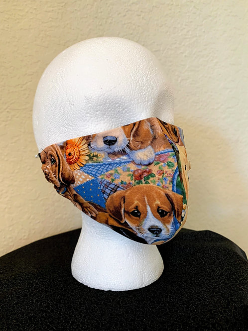Puppies Face Mask