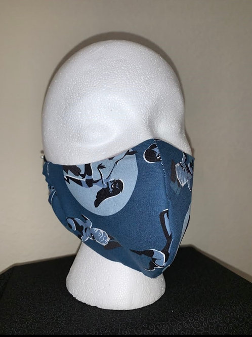 Blue Incredibles Face Mask