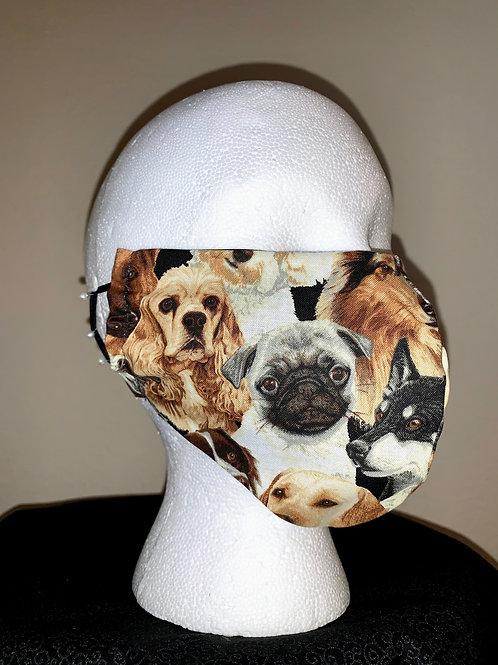 Love My Dog Face Mask