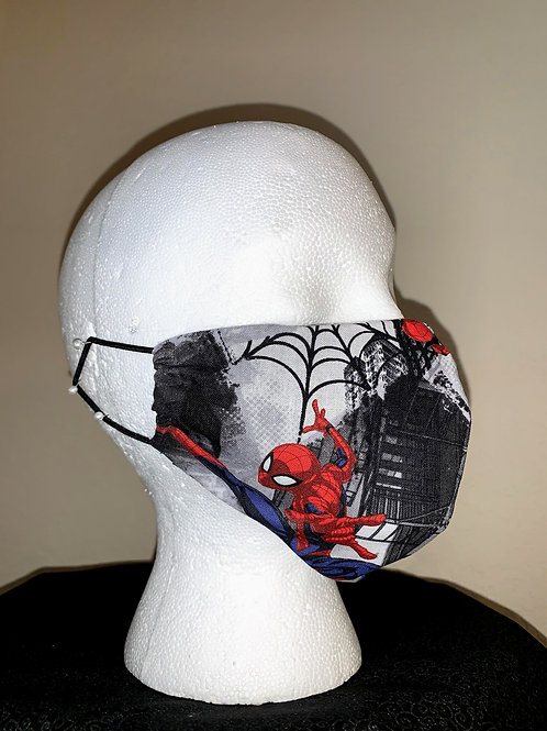 City Spider Man Face Mask