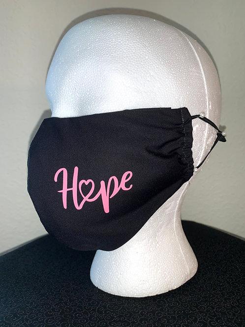 Cancer Hope Face Mask