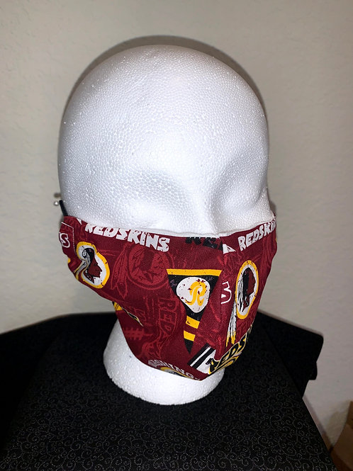 Redskins Face Mask