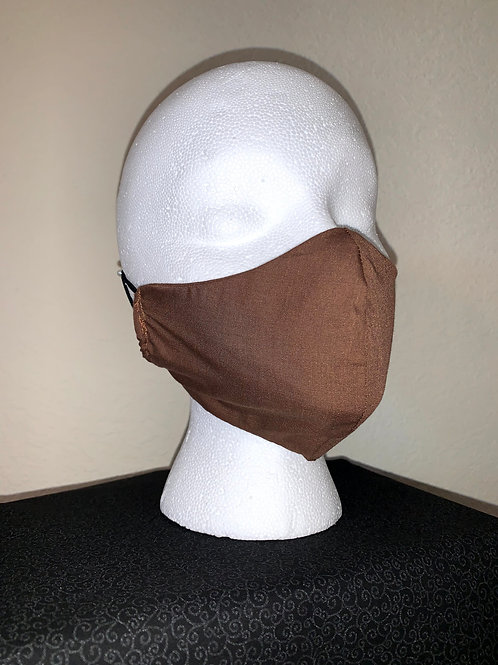 Brown Face Mask