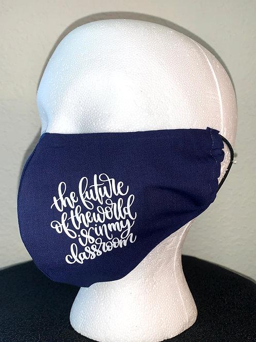 Teacher Future Face Mask