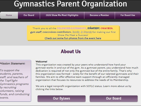 Learn More About Your Gymnasts' Parent Organization
