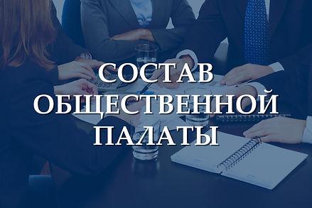 Состав общественной палаты