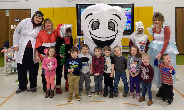 ROOM 4 WITH MR. TOOTH AND FRIENDS 2020.j