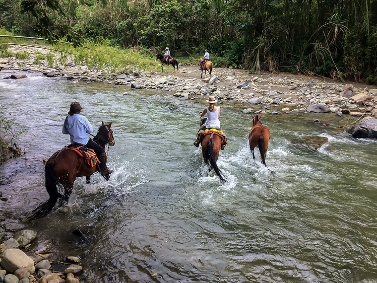 Colombia river crossing