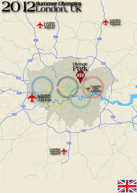 simple map of the summer olympics 12